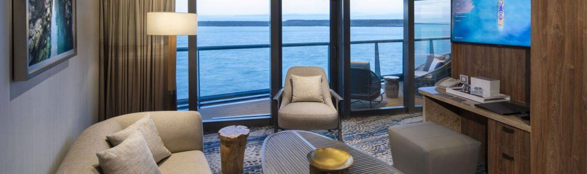 CELEBRITY FLORA Royal Suite