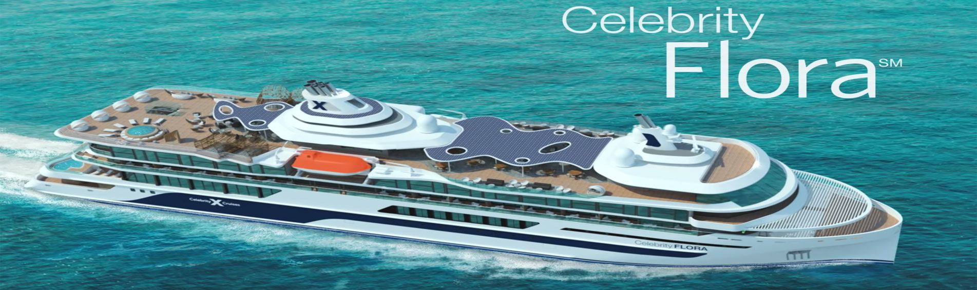 CELEBRITY FLORA concept drawing aerial view