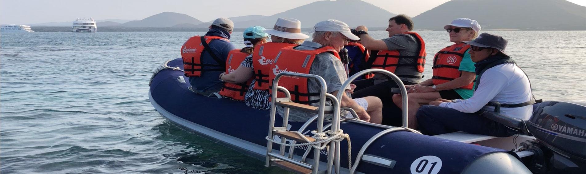 ENDEMIC passengers in tender