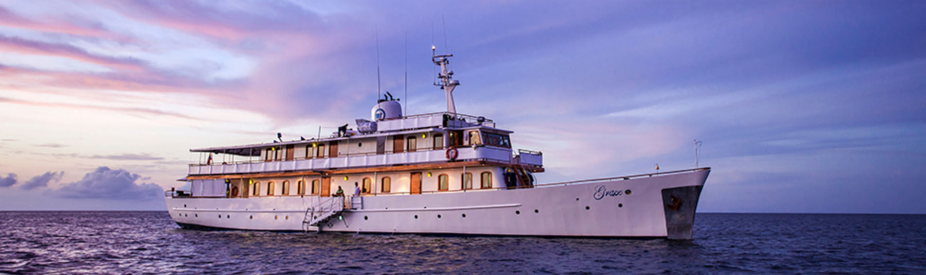 GRACE Galapagos cruise profile