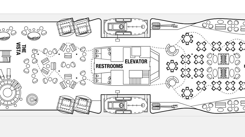 CELEBRITY FLORA Deck 7 Deck plans