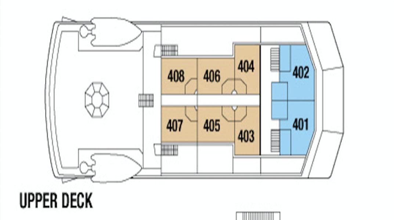 NATIONAL GEOGRAPHIC ISLANDER upper deck plans