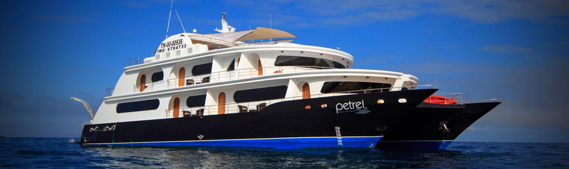 PETREL galapagos cruises hero photo