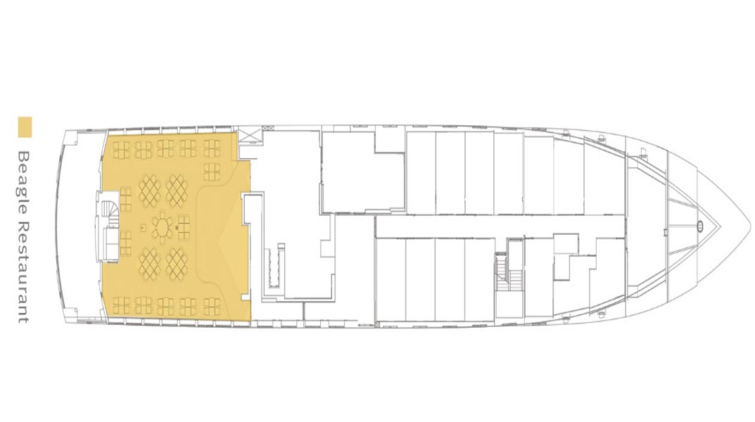 SANTA CRUZ II Ocean Deck Plans