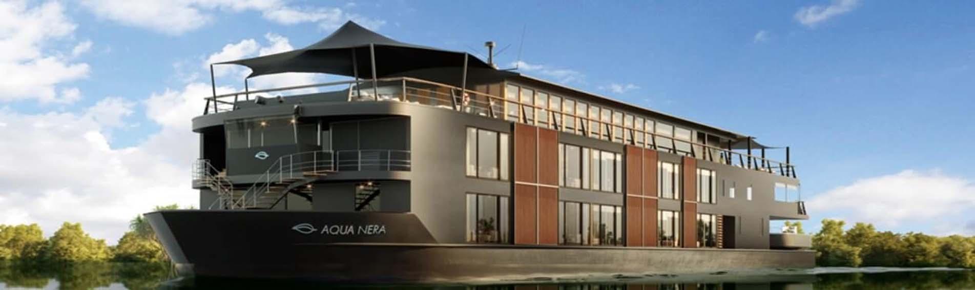 AQUA NERA PERU AMAZON CRUISE side profile ship