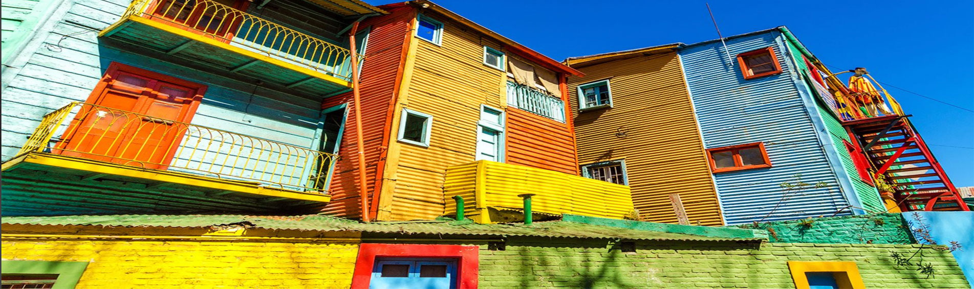 PATAGONIAN DELIGHTS colourful house paint