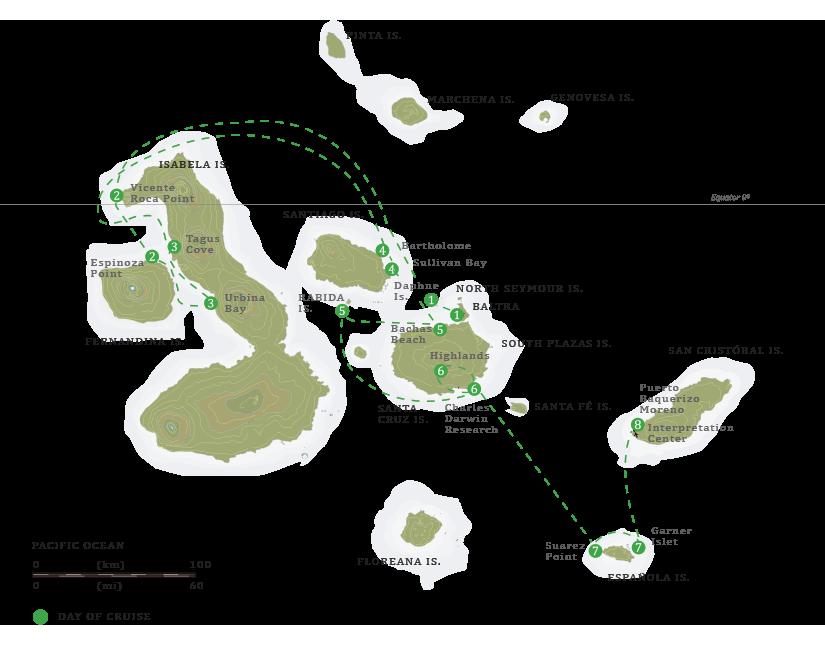 evolution-itinerary-map-baltra-island
